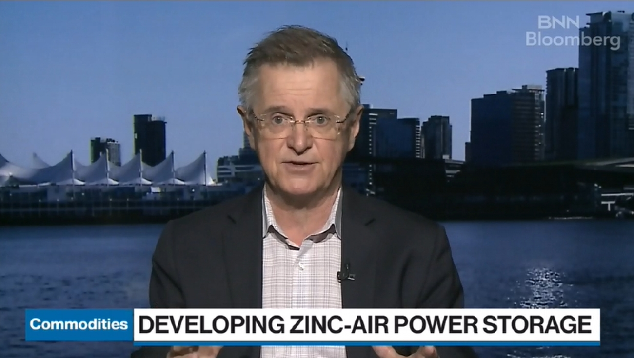 BNN Bloomberg: Vancouver firm teams up with New York state to develop zinc-air energy storage